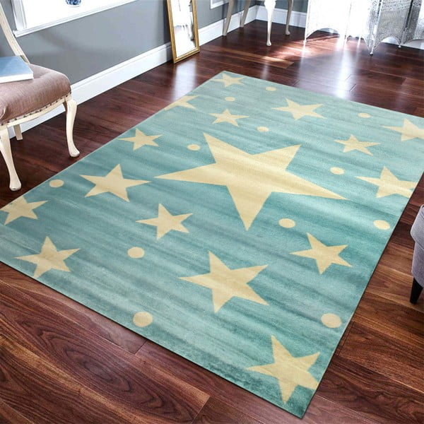 Dětský koberec Stars Sky Azuro, 150 x 230 cm