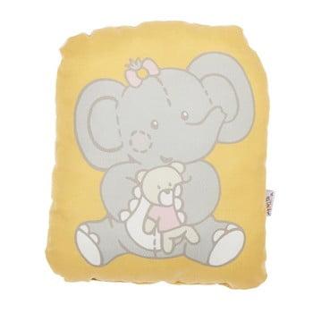 Pernă din amestec de bumbac pentru copii Apolena Pillow Toy Caretto, 22 x 27 cm de la Apolena