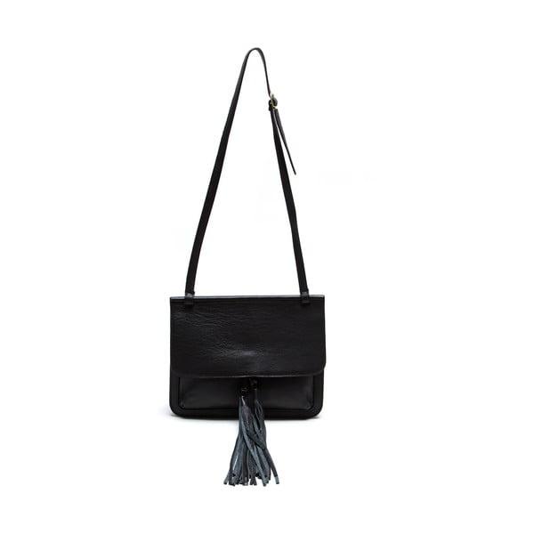 Kožená kabelka Isabella Rhea 1154, černá