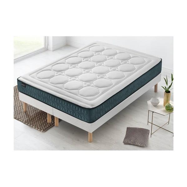 Tendresse franciaágy matraccal, 100 x 200 cm + 100 x 200 cm - Bobochic Paris