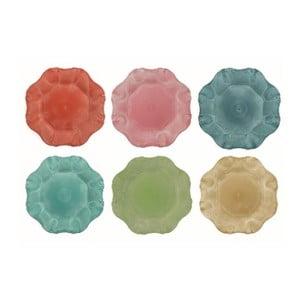 Sada 12 barevných talířů Villa d'Este Colori, Ø 33 cm
