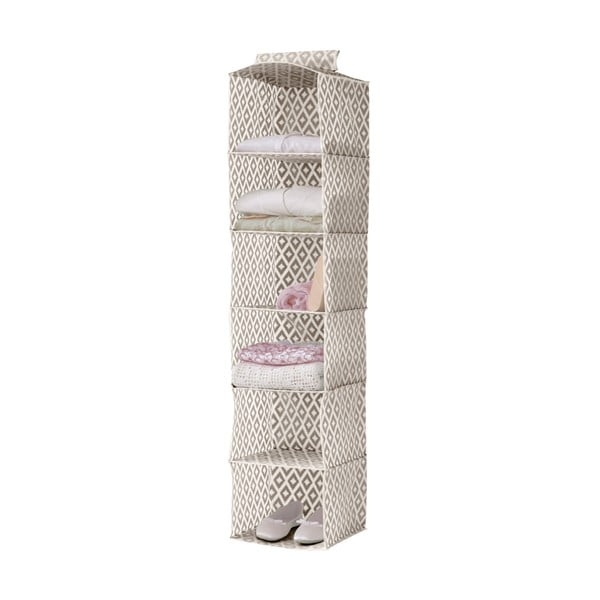Závesný organizér na oblečenie Compactor Daman Range Cloth Rack, výška 128 cm