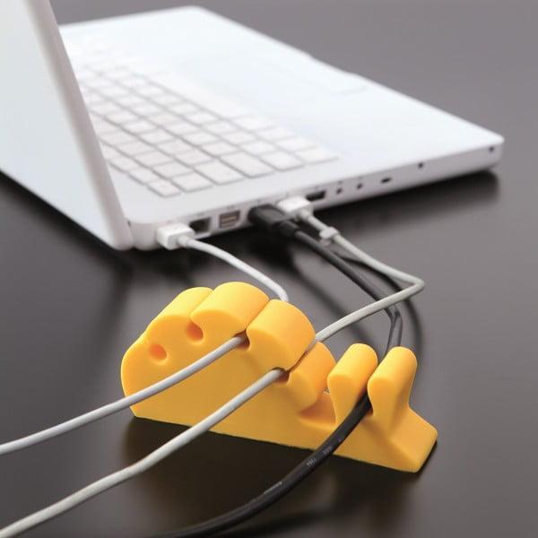 Třídič kabelů Lumaca, žlutý