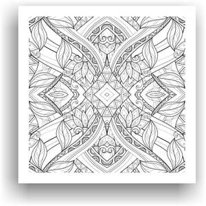 Obraz k vymalování Color It no. 74, 50x50 cm