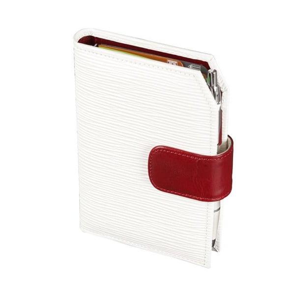 Diář ADK Rondo 2015, A7, bílý/červený