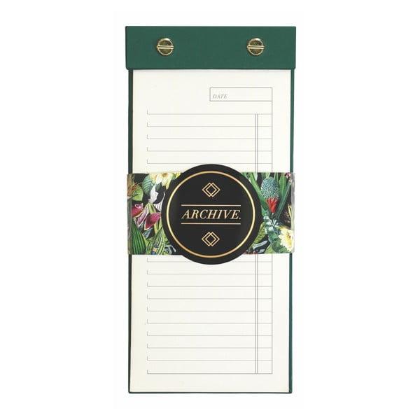 Agendă pentru frigider Portico Designs List