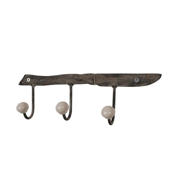 Set dvou věšáků ze starých loveckých nožů