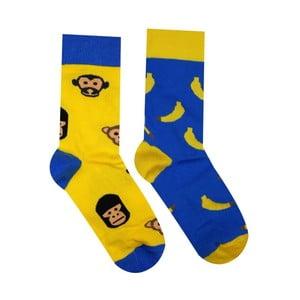 Bavlněné ponožky HestySocks Opičky, vel. 43-46