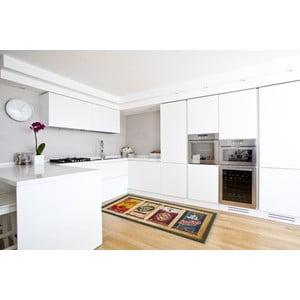 Vysoce odolný kuchyňský koberec Webtappeti Caddy, 60x300 cm