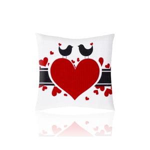 Povlak na polštář Folk Love, 50x50 cm