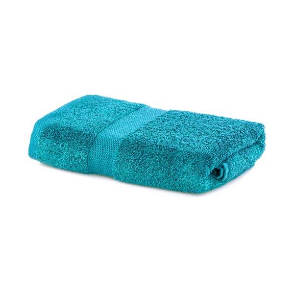 Tyrkysový uterák DecoKing Marina, 50 × 100 cm