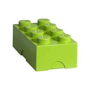 Limetkový svačinový box LEGO®
