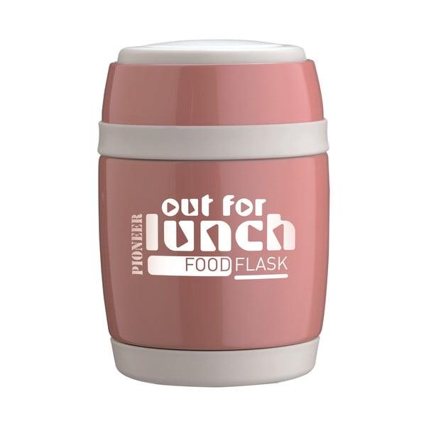 Miska na polévku s lžící Pink Lunch, 580 ml