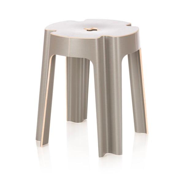 Židle Bloom, šedá
