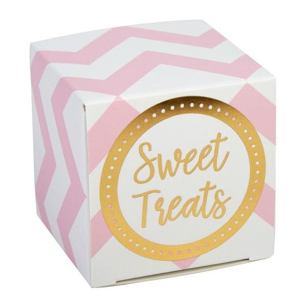 Set 10 cutii pentru dulciuri Neviti Pattern Works, roz