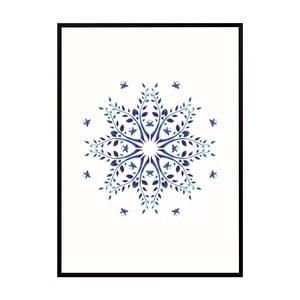 Plakát Nord & Co Sparkling Snow, 21 x 29 cm