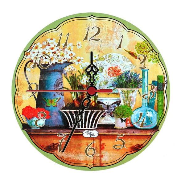Nástěnné hodiny Herbs, 30 cm