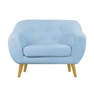 Modré křeslo Helga Interiors Oslo