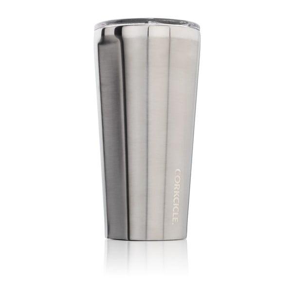 Stříbrný cestovní termohrnek Corkcicle Tumbler,260ml