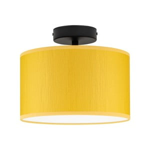 Žluté stropní svítidlo Bulb Attack Doce, ⌀ 25 cm