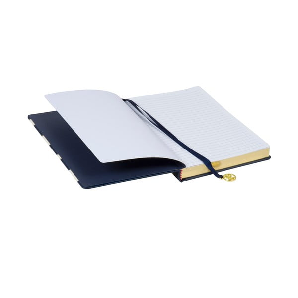 Sada 2 zápisníků, bloku a lepítek Navy Blush