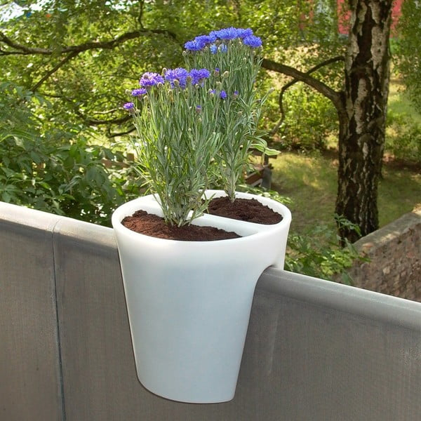 Květináč Steckling, bílý