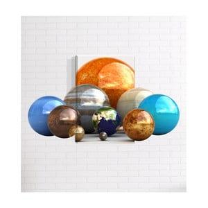 Nástěnný 3D obraz Mosticx Planetky, 40 x 60 cm