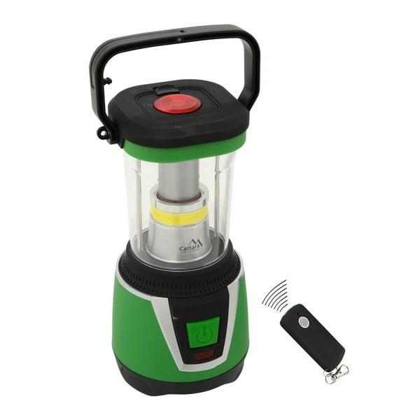 Zelené LED svietidlo Cattara Camping Remote Control