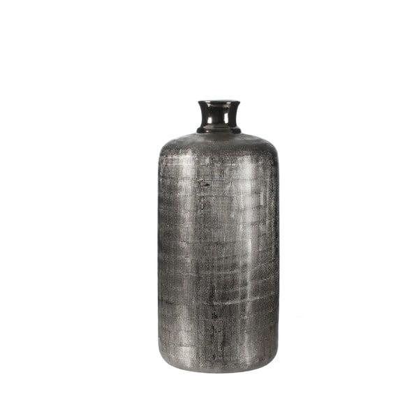 Keramická váza Ivan Silver, 40 cm