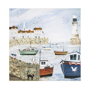 Obraz Graham & Brown Harbourside Type, 50 x 50 cm
