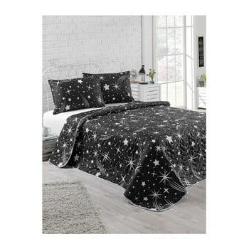Set cuvertură cu cearșaf și fețe de pernă Starry Night, 160 x 220 cm imagine