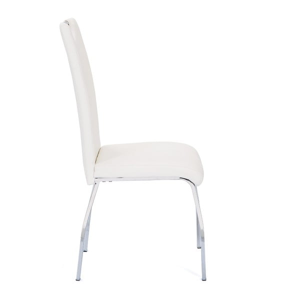 Sada 2 bílých jídelních židlí Interlink Georgia