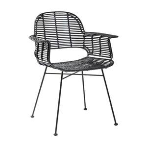 Scaun Kare Design Ko Lipe, negru