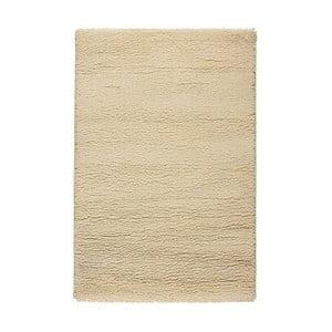 Vlněný koberec Pradera Crema, 67x200 cm