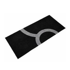 Univerzální rohožka Leone Grey/Black, 150x70 cm