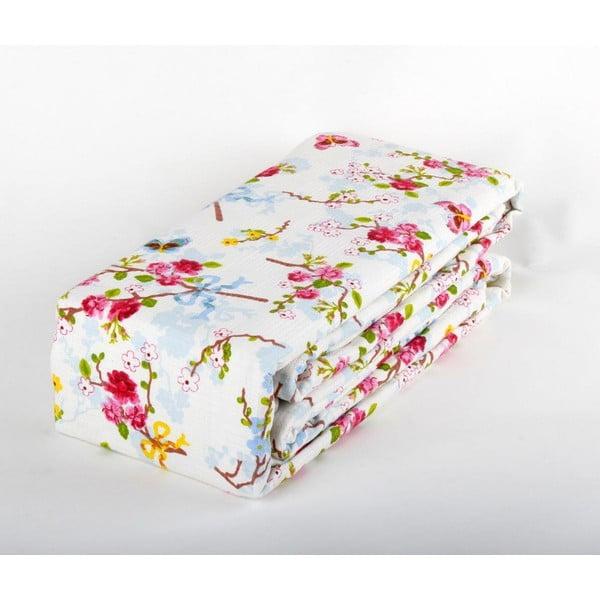 Růžový přehoz přes postel Love Colors Emma, 200 x 240 cm