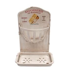 Držák na mýdlo a mycí houbu De Marseille