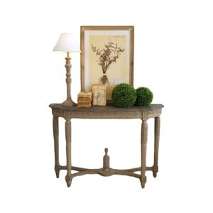Konzolový stolek zmahagonového dřeva Orchidea Milano Richelieu