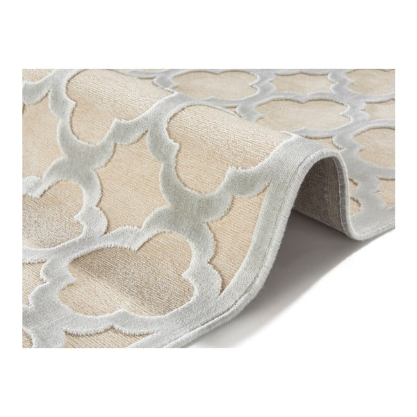 Šedokrémový koberec Mint Rugs Shine Mero, 160 x 230 cm