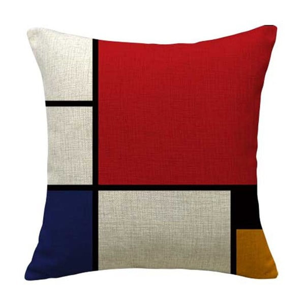 Povlak na polštář Line Colors, 45x45 cm