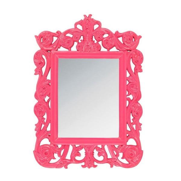 Závěsné zrcadlo 32x44 cm, růžové