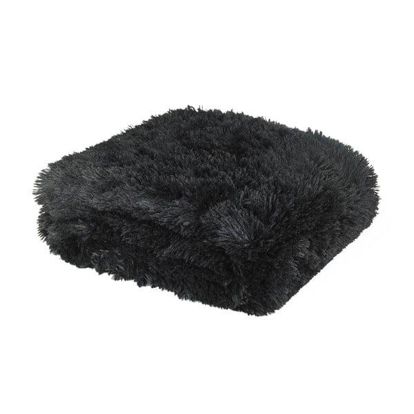 Deka Cuddly Black, 150x200 cm