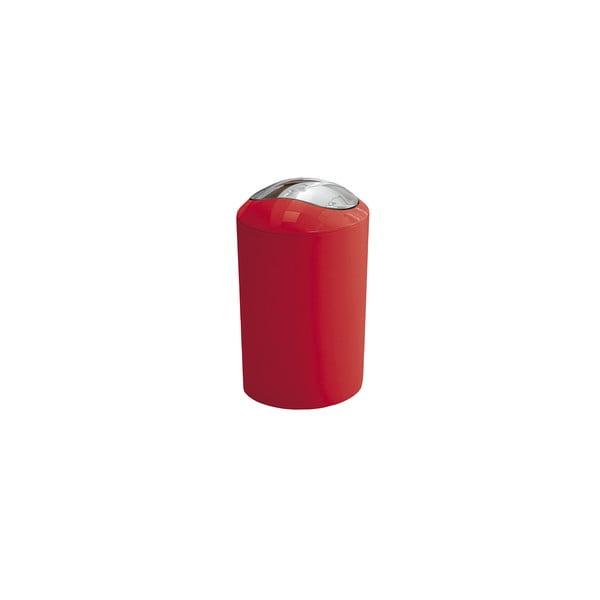 Odpadkový koš Glossy Red, 3 l