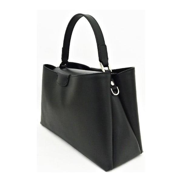 Kožená kabelka Numa Black