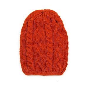 Čepice Knitted Red