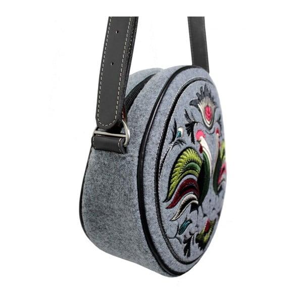 Plstěná vyšívaná kabelka New Folk