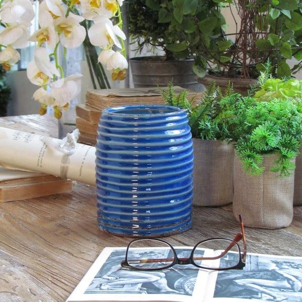 Váza Roma Blue, 12x15 cm