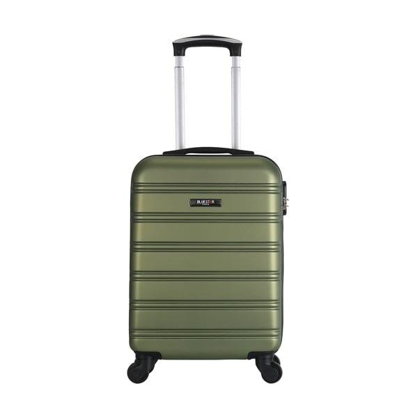 Zelené zavazadlo na 4 kolečkách Bluestar Santa Barbara