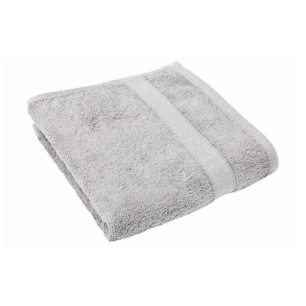 Světle šedý ručník Tiseco Home Studio, 50 x 100 cm