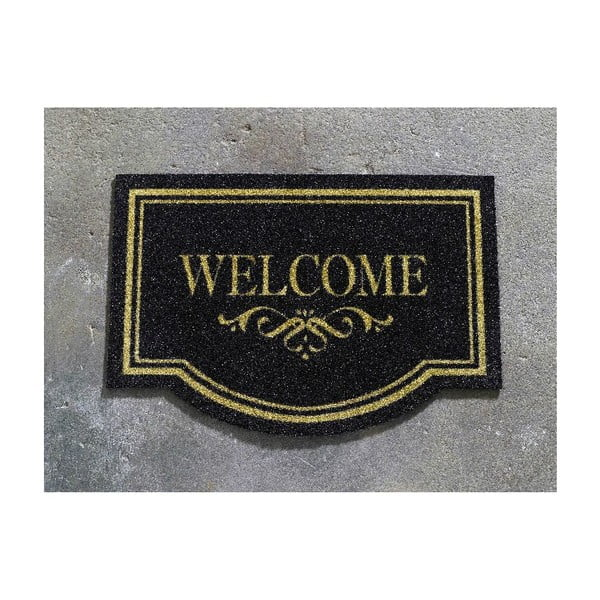 Rohožka Hanse Home Welcome Home Black, 45 x 65 cm